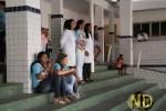 Profissionais da saúde assistem apresentação