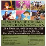 PROFESSORA REJANE DE SOUZA PARTICIPA DA II MOSTRA DE CINEMA DE CURRAIS NOVOS.