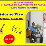 """ANA MORAIS E LEANDRO SILVA FARÃO SHOW DURANTE O """"JANTAR DE SÃO VICENTE"""" QUE ACONTECERÁ NESTE SÁBADO (21)"""