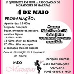 EVENTO EM PROL DE ASSOCIAÇÃO DE MORADORES DE MAZAPAS APRESENTARÁ DIVERSAS ATRAÇÕES CULTURAIS