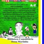 """CARTILHA CIDADANIA A-Z SERÁ LANÇADA EM NÍSIA FLORESTA EM PARCERIA COM A BIBLIOTECA """"DONA MARIINHA"""""""