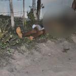 Jovem morto em Mipibu Foto Cláudio Dantas Digital Mipibu