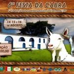 I EXPOSIÇÃO DE CAPRINOS DE MIPIBU ACONTECE DE 14 A 16 DE AGOSTO