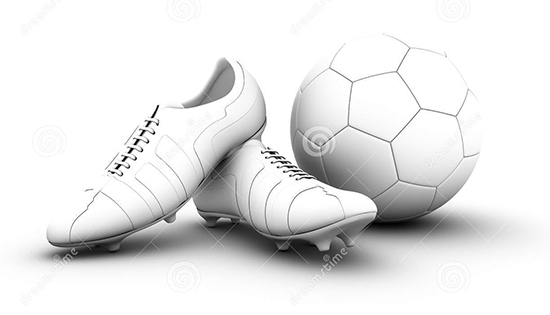 d-soccer-ball-football-boots-white-background-41135544