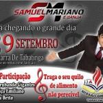 COM SAMUEL MARIANO, II CRUZADA EVANGELÍSTICA DE TABATINGA ACONTECE NESTA TERÇA