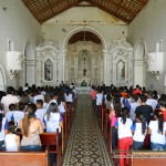 CRIANÇAS SÃO PROTAGONISTA DA II FEIRA BÍBLICA DA PARÓQUIA DE NÍSIA FLORESTA