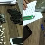 FLAGRADO COM DROGAS E CELULARES, AGENTE PENITENCIÁRIO É PRESO NO RN