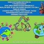 PARÓQUIA DE NÍSIA FLORESTA PROMOVE OFICINA DE RECICLAGEM