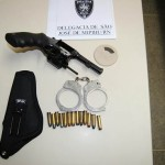POLÍCIA PRENDE HOMEM POR PORTE ILEGAL DE ARMA EM SÃO JOSÉ DE MIPIBU