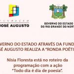 NÍSIA FLORESTA TEM EVENTO DEDICADO À POESIA NESTA SEGUNDA