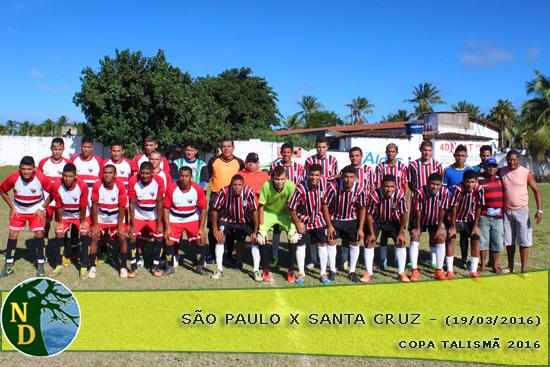 Galeria São Paulo x Santa Cruz Copa Talismã 19 03 2016