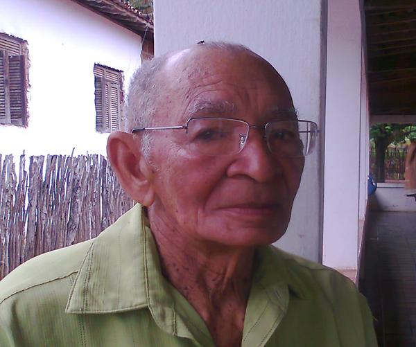 ex-combatante nisiaflorestense João Cândido Martins Filho