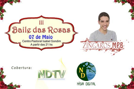 NDTV no Baile das Rosas 2016