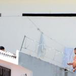COM CELULAR NA MÃO, PRESO É FOTOGRAFADO NA PENITENCIÁRIA DE ALCAÇUZ
