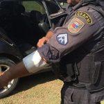 POLICIAL SOFRE TIRO DE RASPÃO DURANTE PERSEGUIÇÃO EM SÃO JOSÉ DE MIPIBU