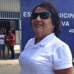 MARIZE LEITE VOTA NA COMUNIDADE DO PORTO
