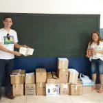 BIBLIOTECA DONA MARIINHA RECEBE 500 LIVROS DO PROJETO K200