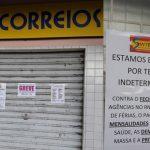 FUNCIONÁRIOS ADEREM À GREVE E AGÊNCIA DOS CORREIOS DE NÍSIA FLORESTA PARALISA ATENDIMENTO