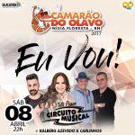 CIRCUITO MUSICAL ANIMA A NOITE DE HOJE NO CAMARÃO DO OLAVO