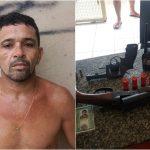 FORAGIDO DE ALCAÇUZ É PRESO COM ARMAS E IDENTIDADE FALSA