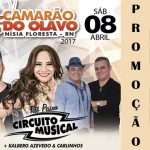 #PROMOND: SENHAS PARA CIRCUITO MUSICAL NO CAMARÃO DO OLAVO