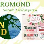 #PROMOND: CONCORRA A 2 SENHAS PARA O IV BAILE DAS ROSAS