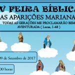 IV FEIRA BÍBLICA DA PARÓQUIA DE NÍSIA FLORESTA ACONTECE NESTE SÁBADO