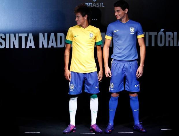 cfbfb03fbb A CBF lançou oficialmente o novo manto da seleção brasileira ...