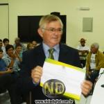 O vereador foi eleito para o 3º mandato consecutivo. (Foto: Agripino Junior/Nísia Digital)