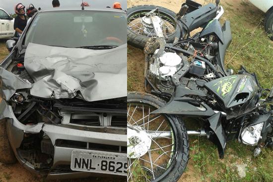 Acidente com vitima fatal em SJ Mipibu 8 5 2016