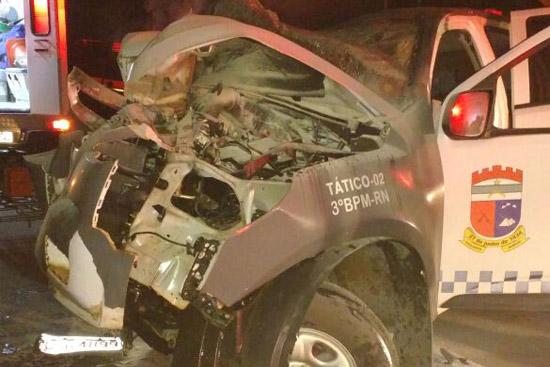 Acidente fatal com carro da PM 10 08 2016